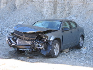 Autounfall in den USA